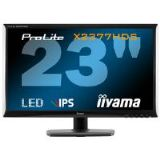Iiyama ProLite X2377HDS 23 inch LED Backlit LCD Monitor 1000:1 250cd/m2 1920x1080 5ms D-Sub/DVI-D/HD